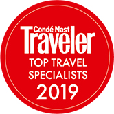 2019 Condé Nast Traveler Top Travel Specialists Award