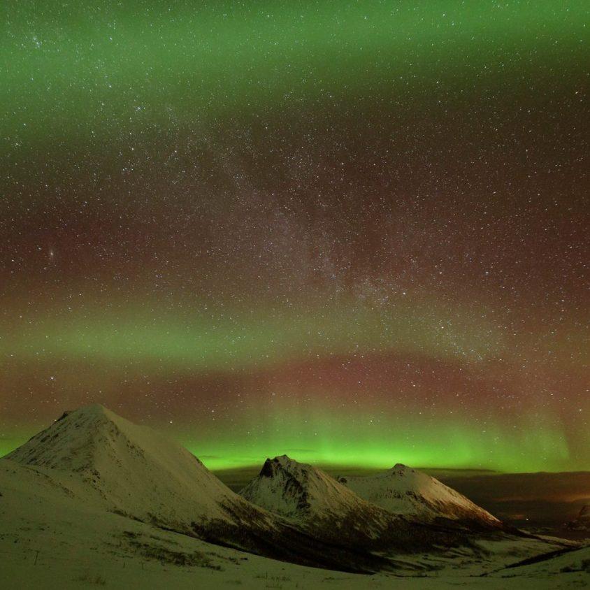 The aurorea borealis in Norway, Arctic train journeys with GeoEx