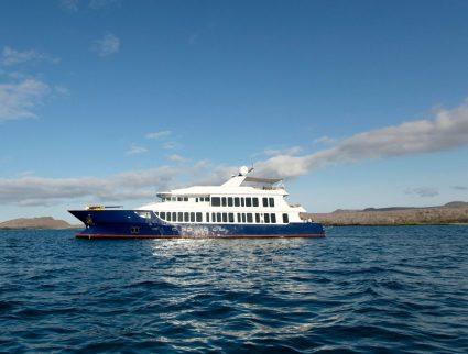 MV Origin yacht sailing the Galapagos