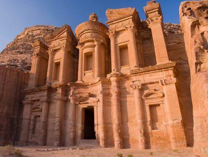 The Monastery (Al-Deir) at Petra, a UNESCO World Heritage Site, Jordan