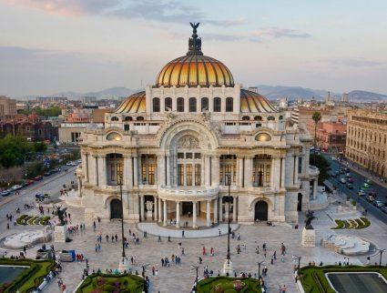 Palacio del Belles Artes, Mexico City, Mexico