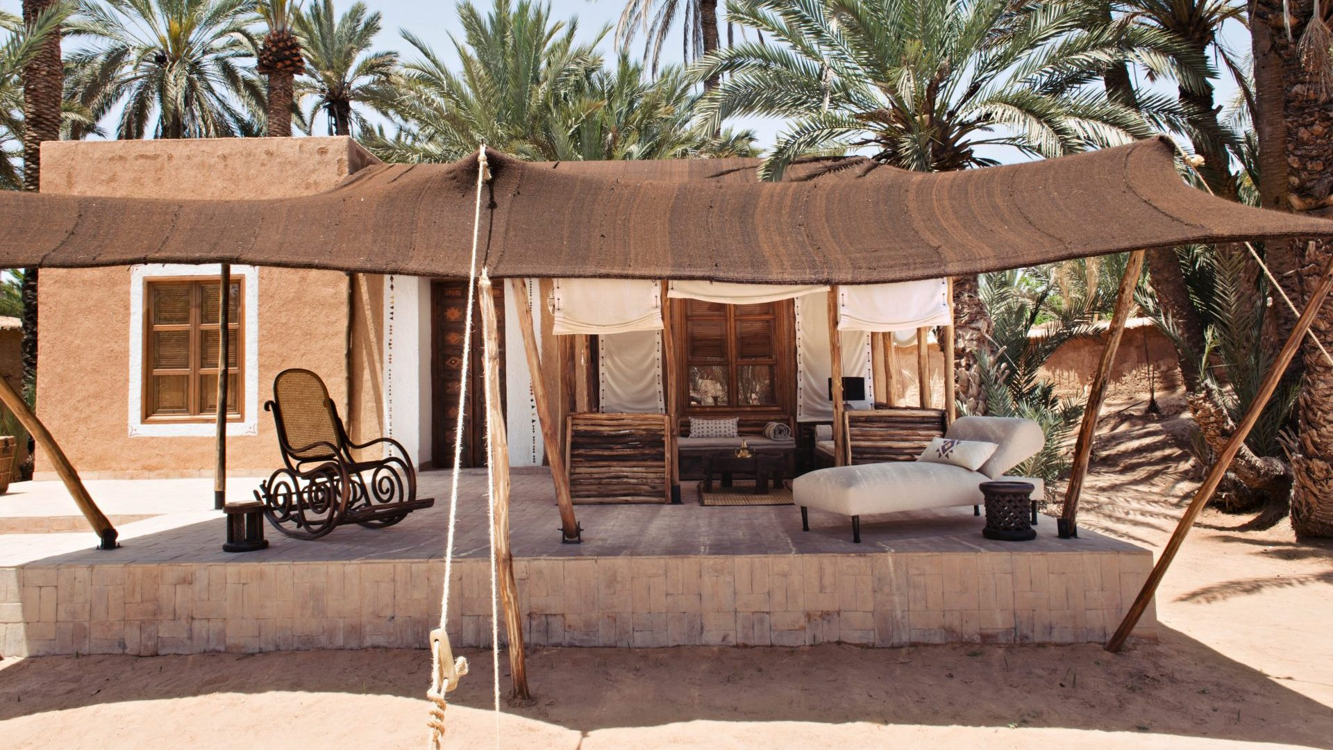 Oasis on the Memory Road in Southern Morocco