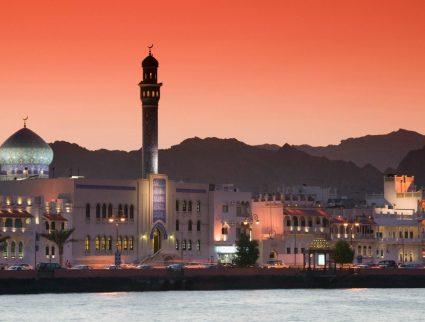 Muttrah Corniche in Muscat Oman