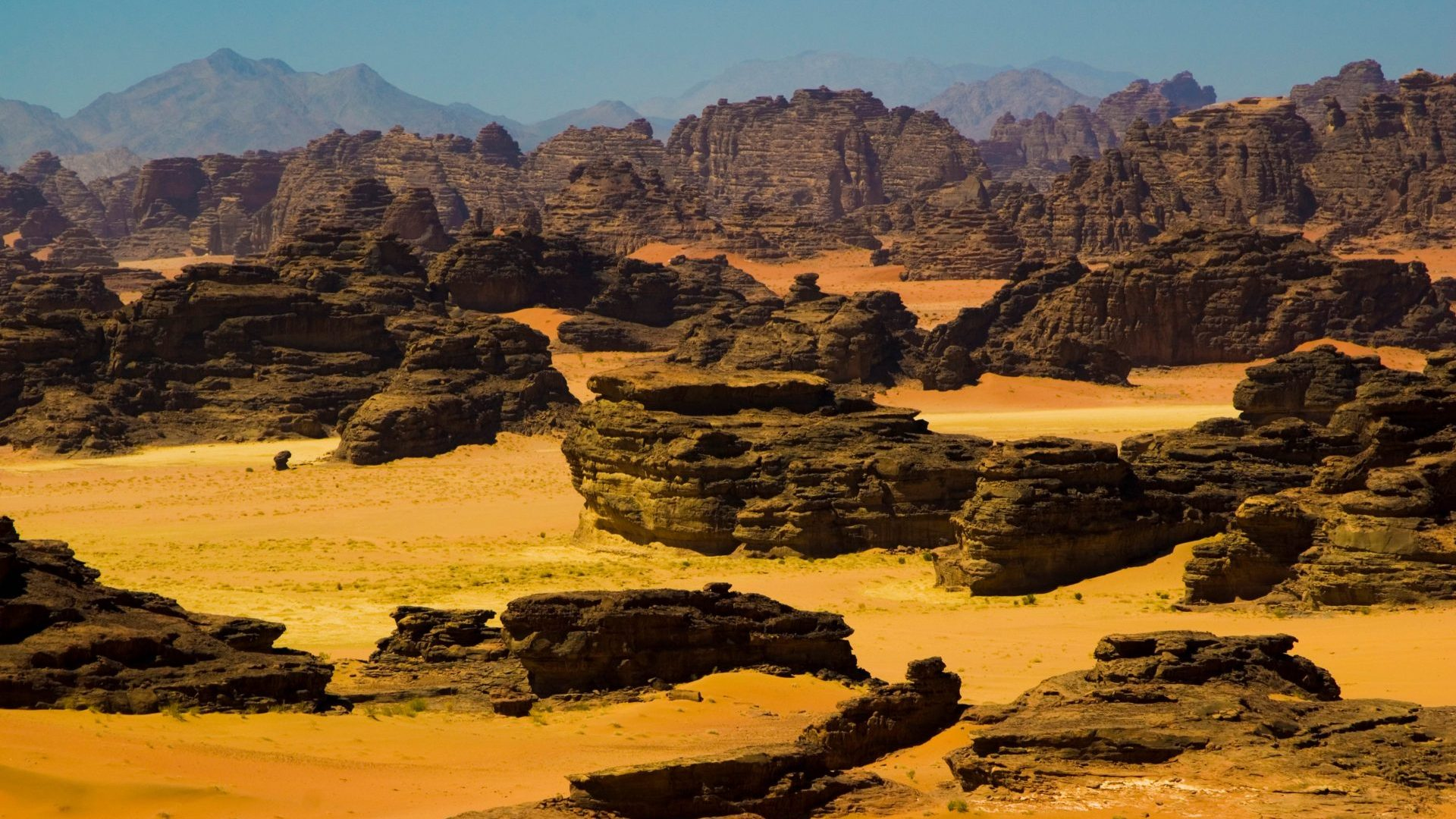 Hisma desert north of Tabuk, Saudi Arabia
