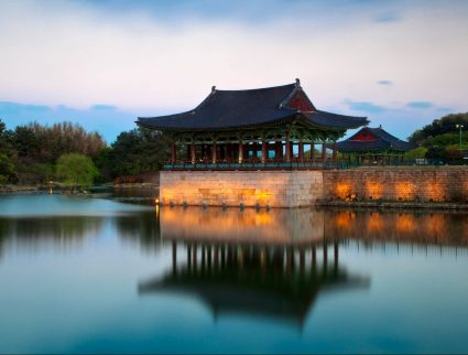 Gyeongju, Anapji Pond in South Korea with GeoEx