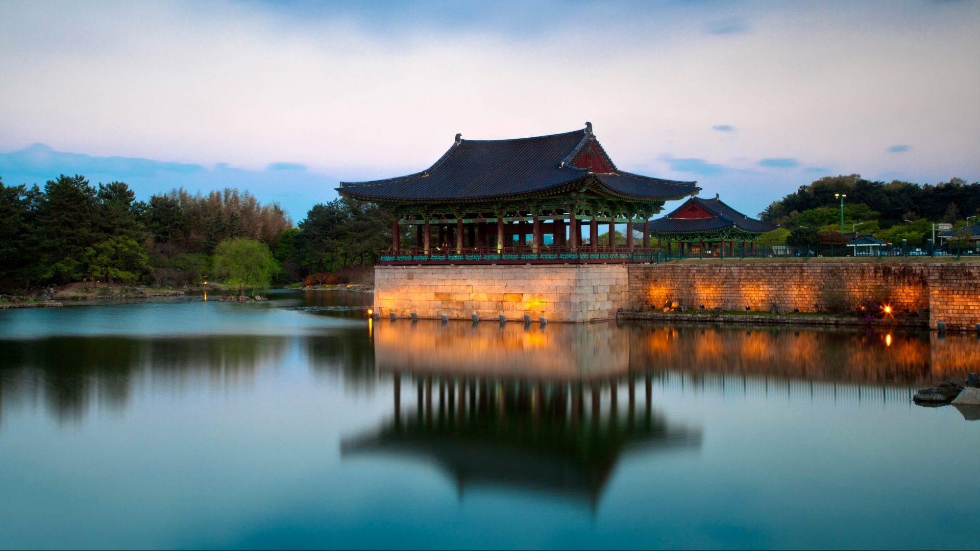 Gyeongju, Anapji Pond in South Korea with GeoEx