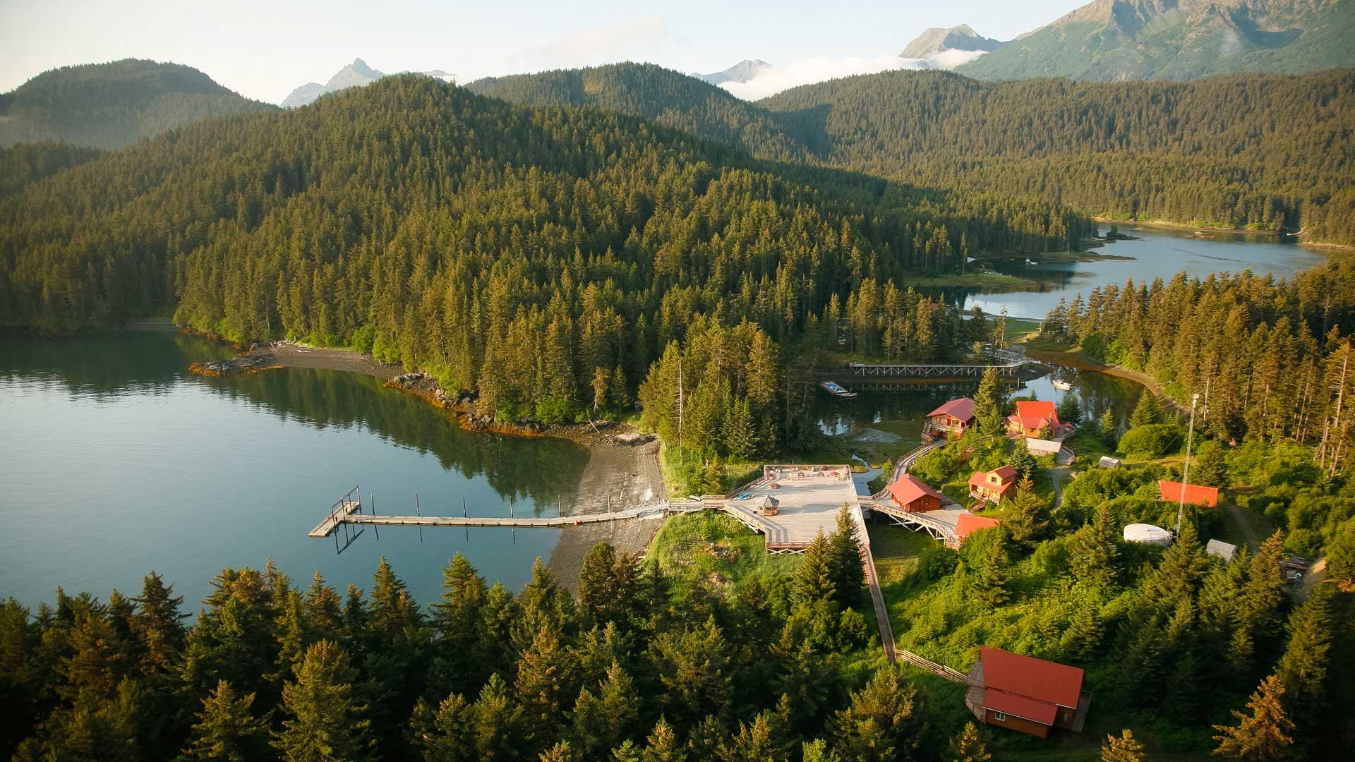 Tutka Bay lodge in Alaska with GeoEx.