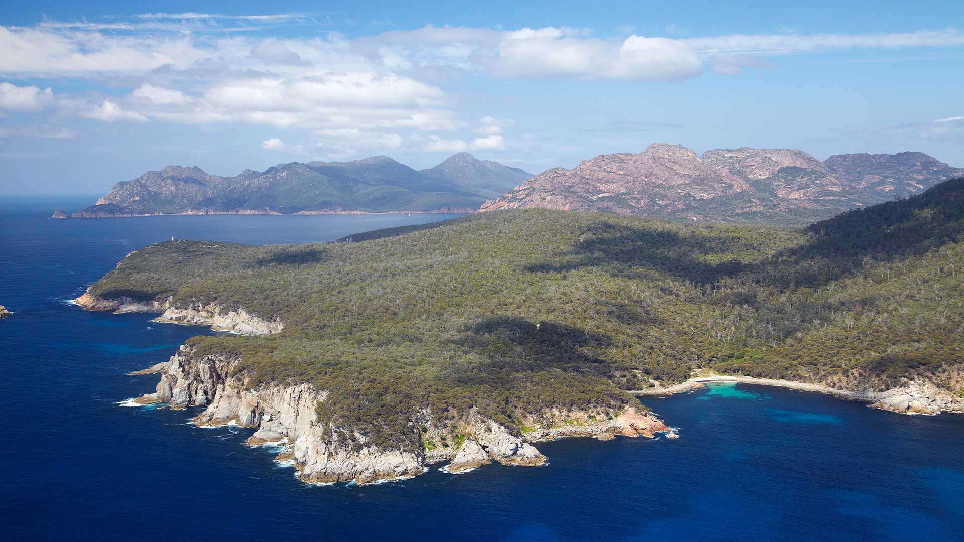 Cape Tourville, Freycinet National Park, Freycinet Peninsula, Eastern Tasmania, Australia