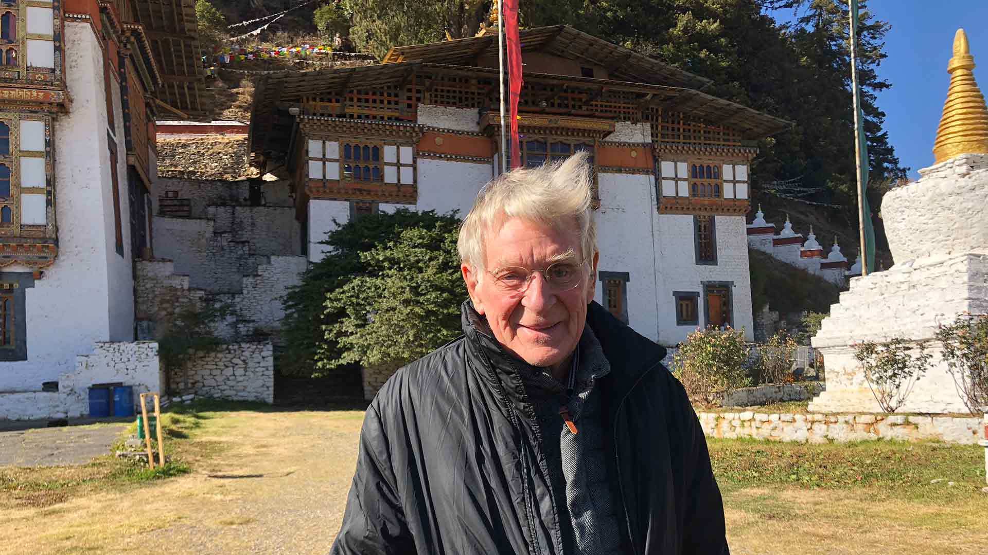 Dr. Robert Thurman in Bhutan