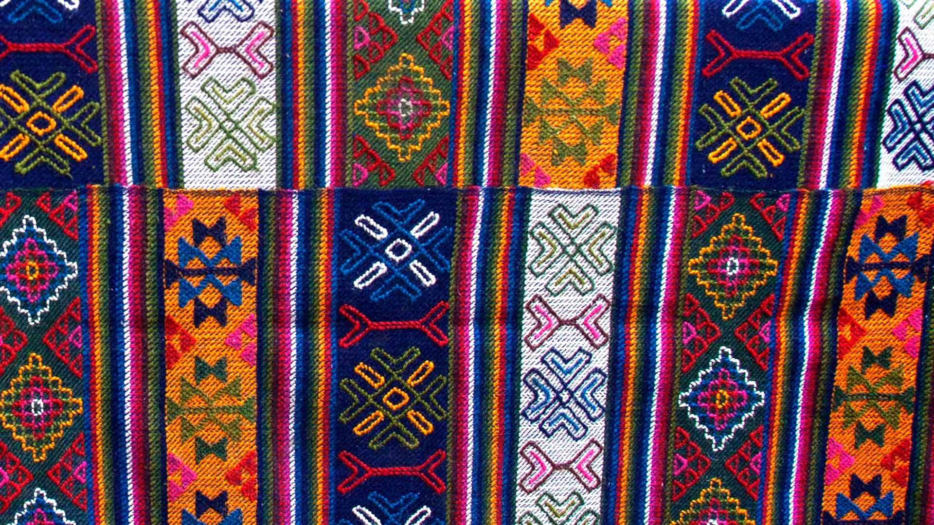 Textiles from the Bumthang region of Bhutan