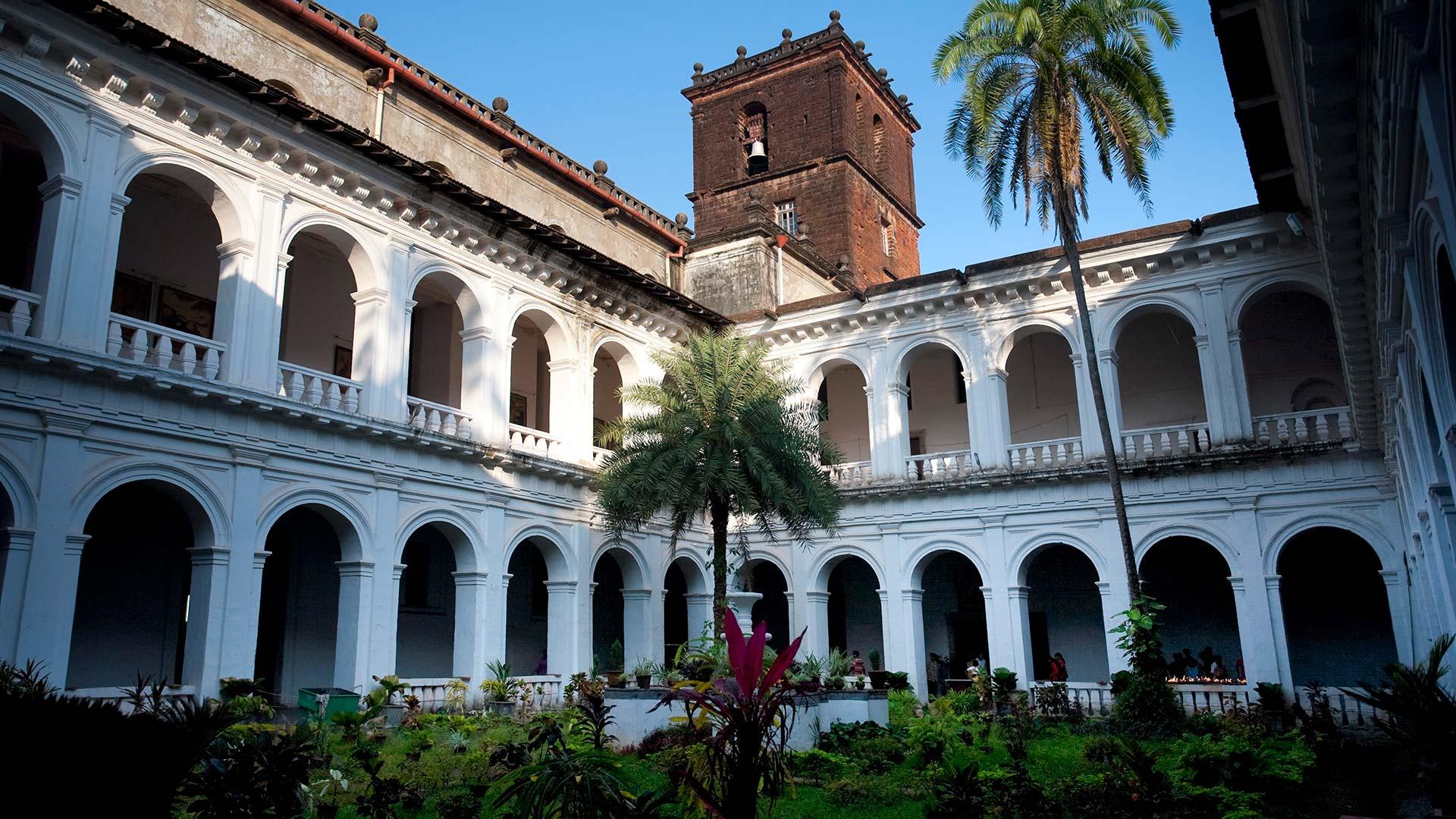 Bom Jesus Basilica in Old Goa, India
