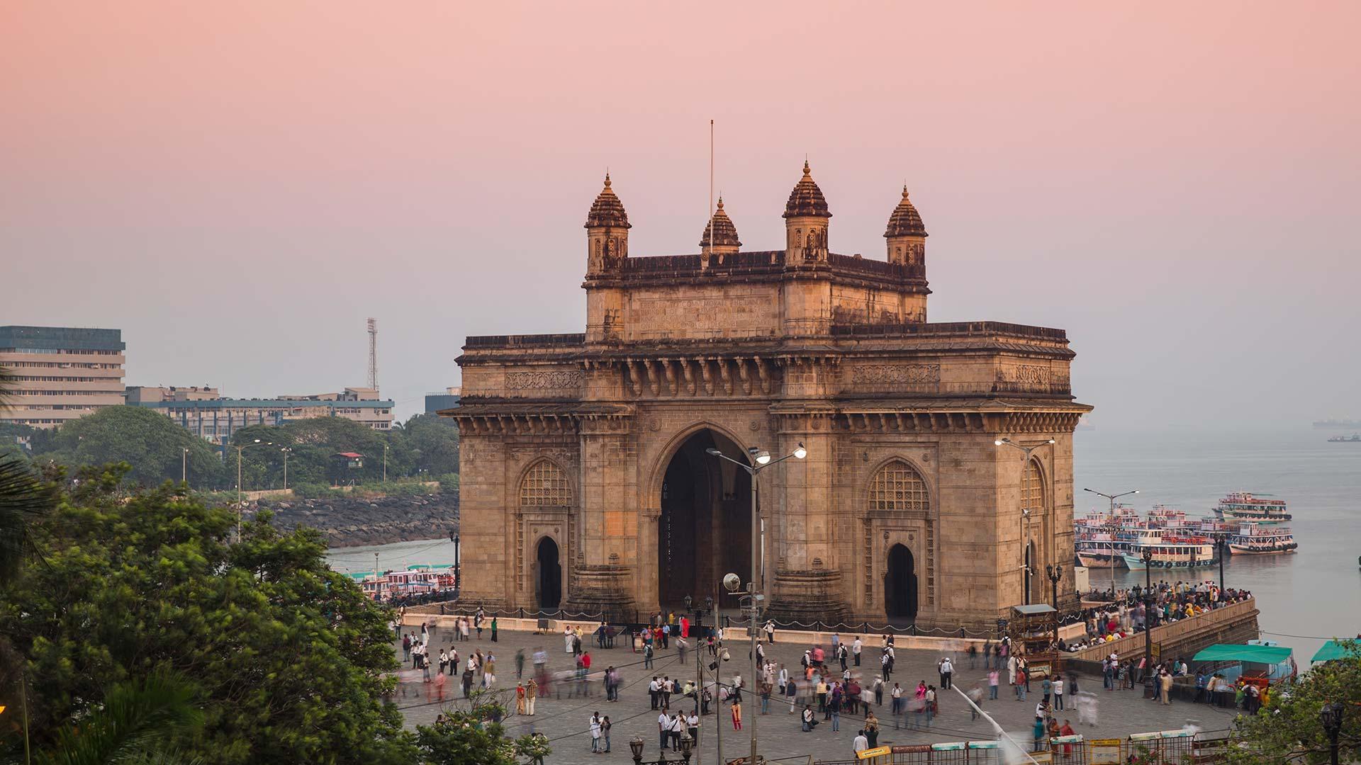 The Gateway of India in Mumbai