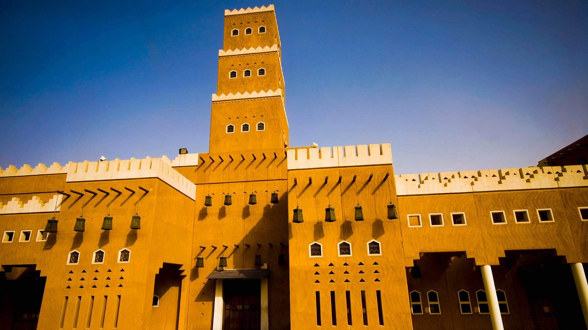Mosque of Al Diriyah in Riyadh, Saudi Arabia