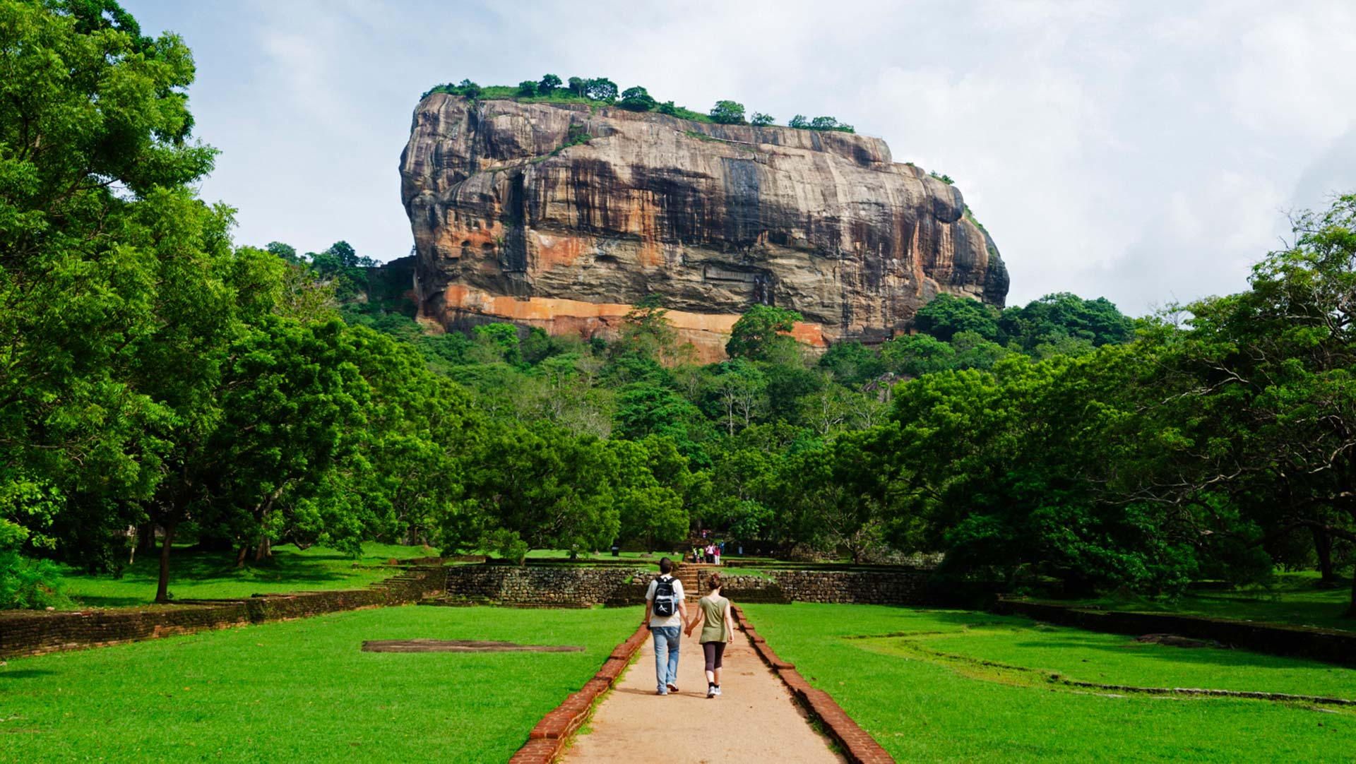 The rock fortress of Sigiriya in Sri Lanka's North Central Province