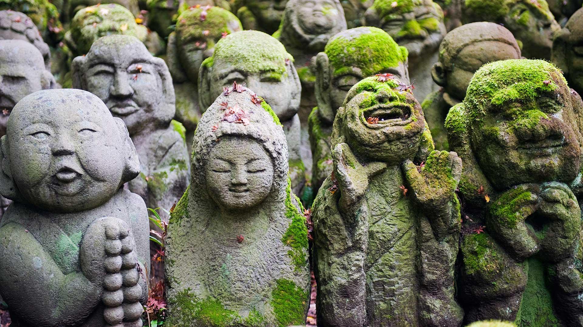 Stones from Otagi Nenbutsu dera temple