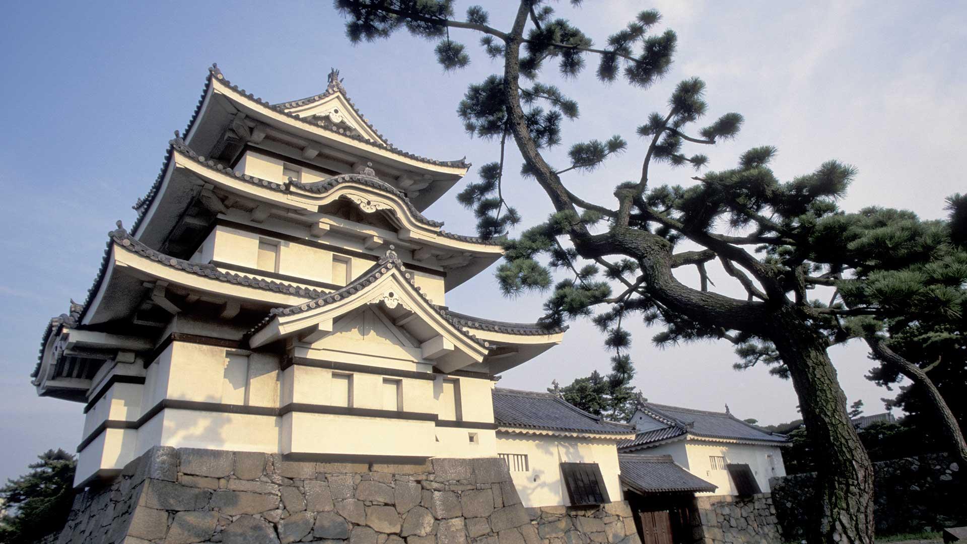 Takamatsu Castle, Shikoku