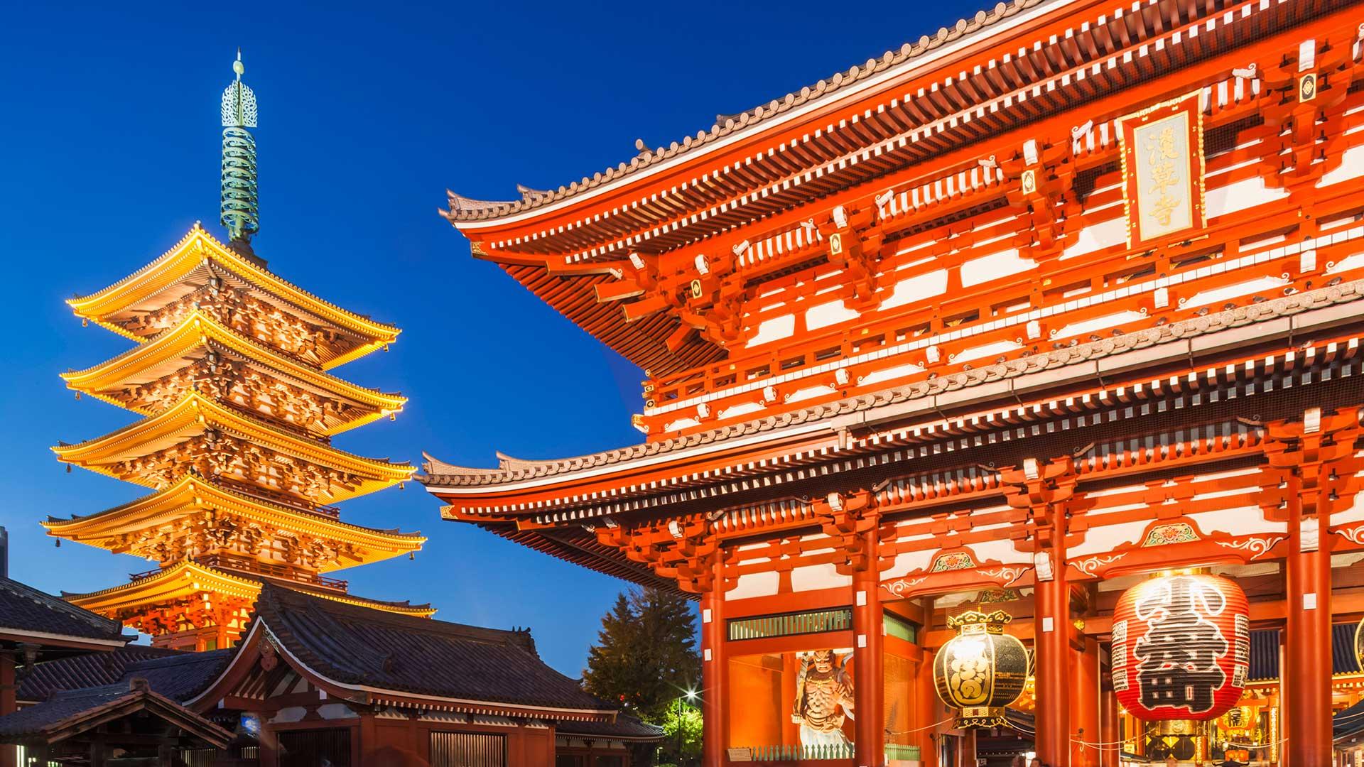Asakusa, Sensoji Temple aka Asakusa Kannon Temple