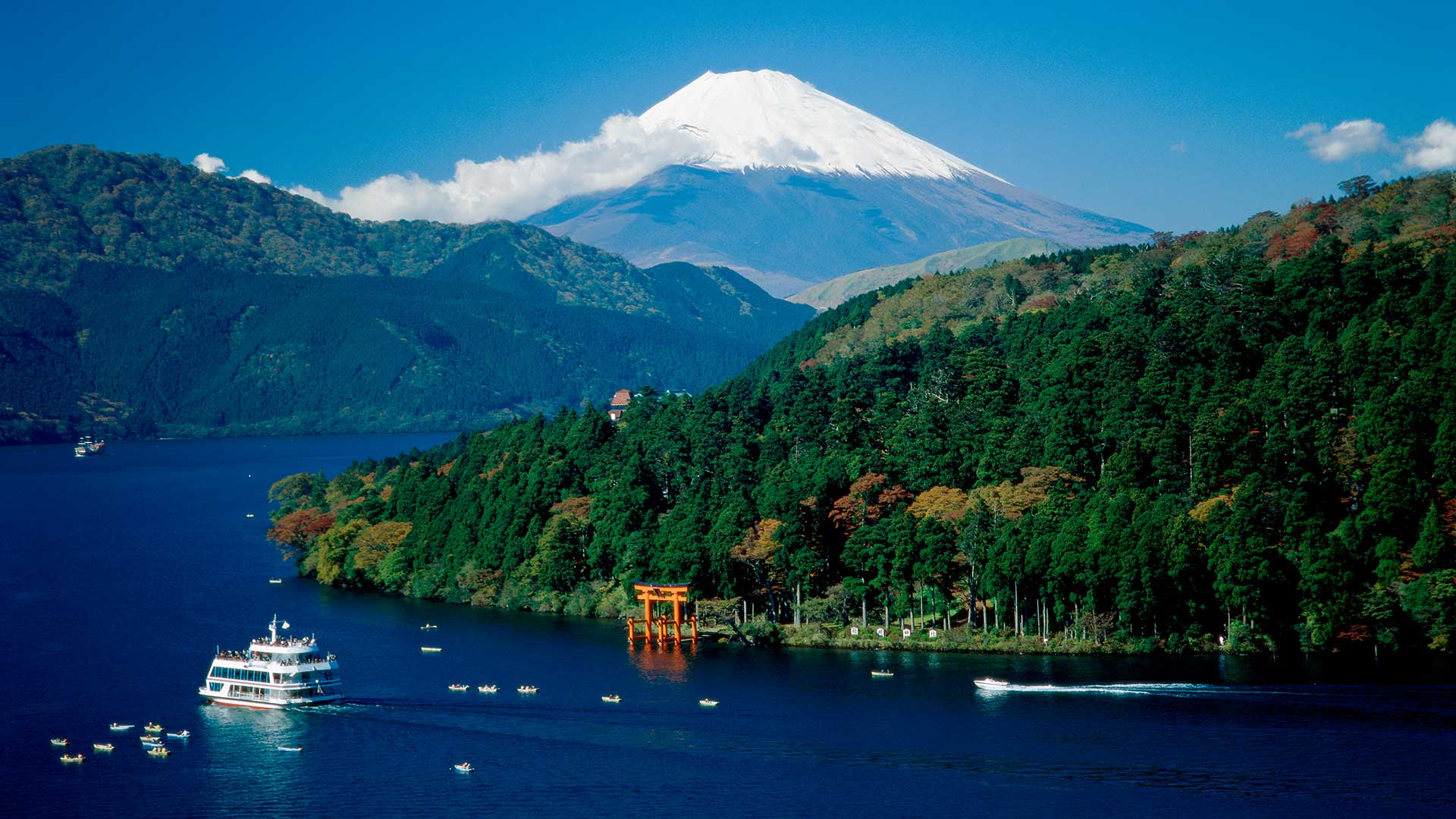 Mount Fuji & Lake Ashi, Hakone, Japan