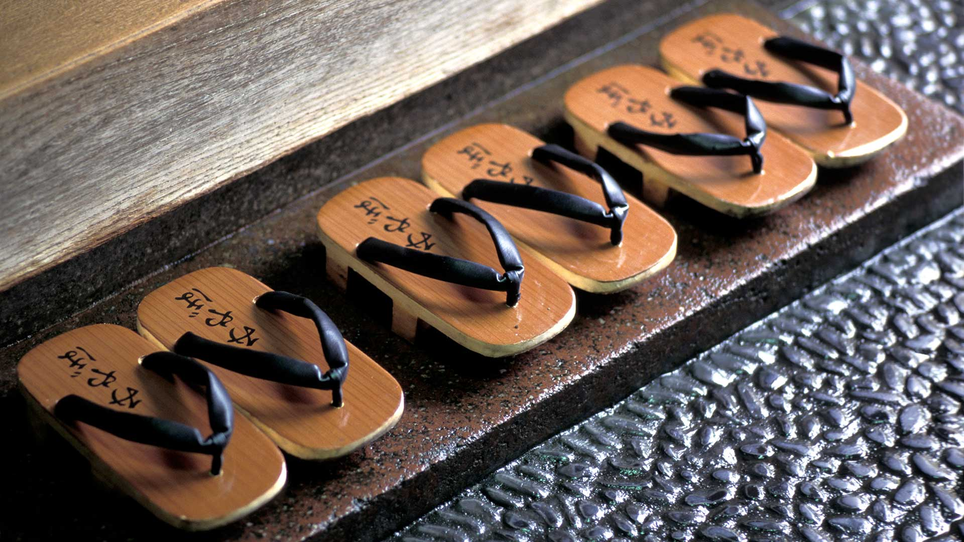 Traditional sandals a Ryokan