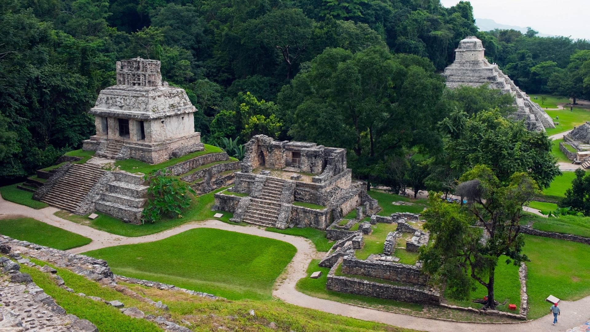 Mayan ruins, Chiapas, Palenque