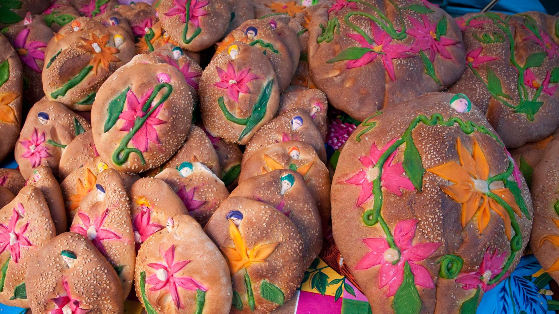Pan de Muerto, Abastos market, Oaxaca