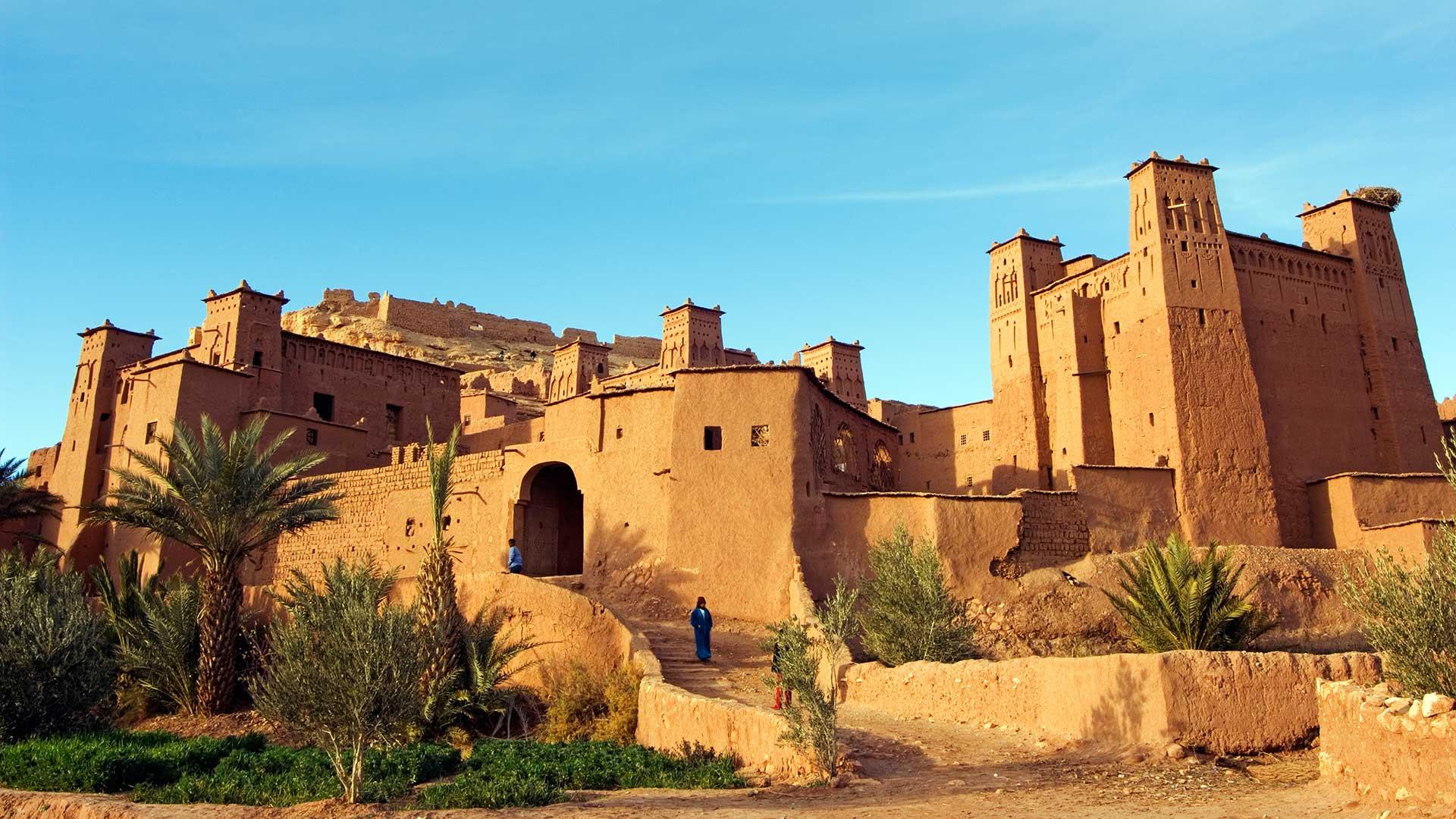 Kasbah near Ouarzazate