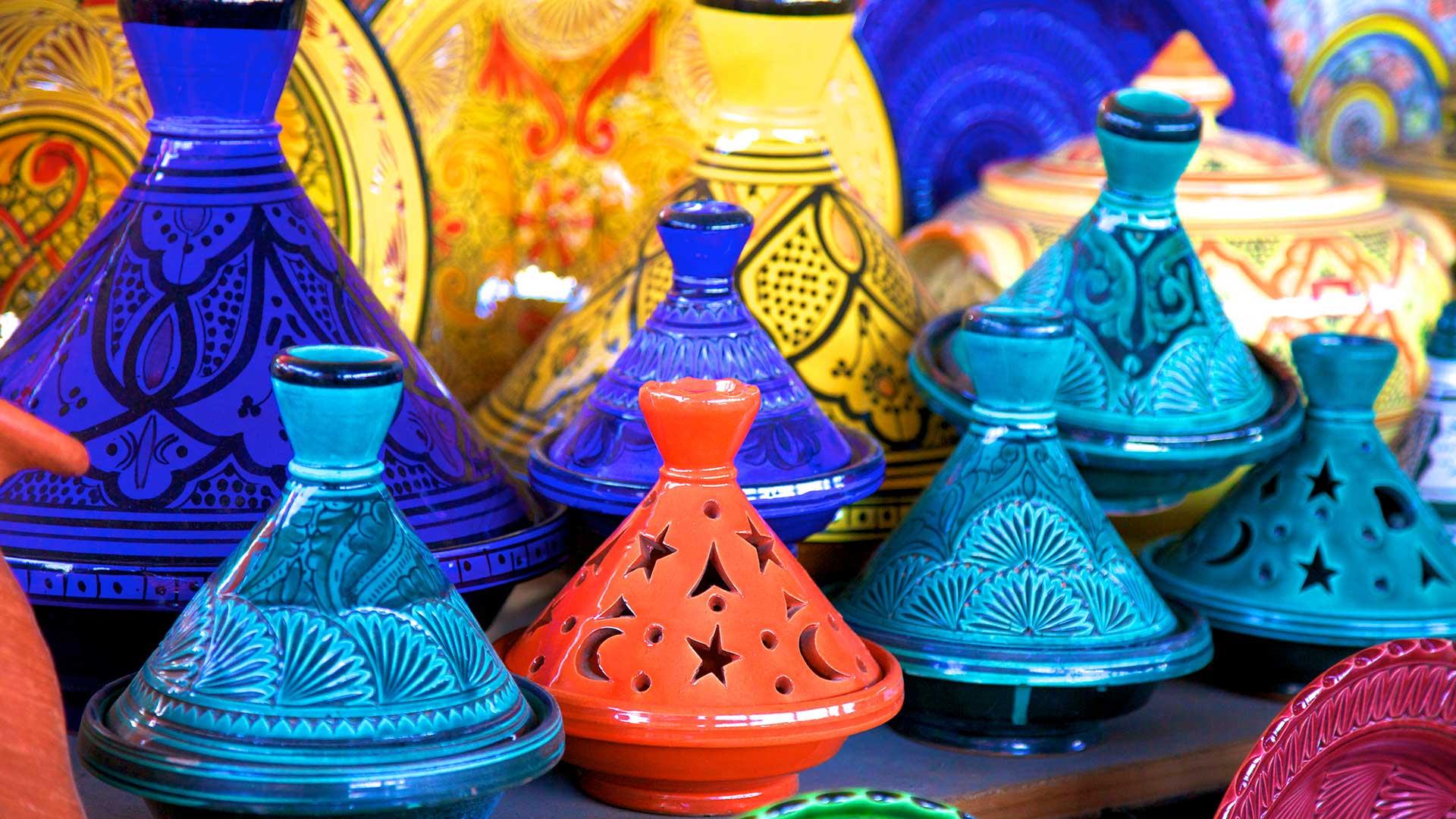 Tagine pots, Tangier
