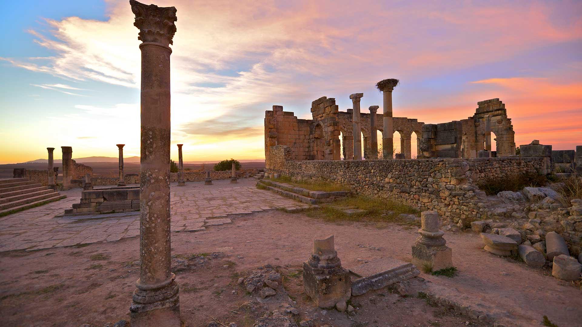 Excavated Roman City, Volubilis