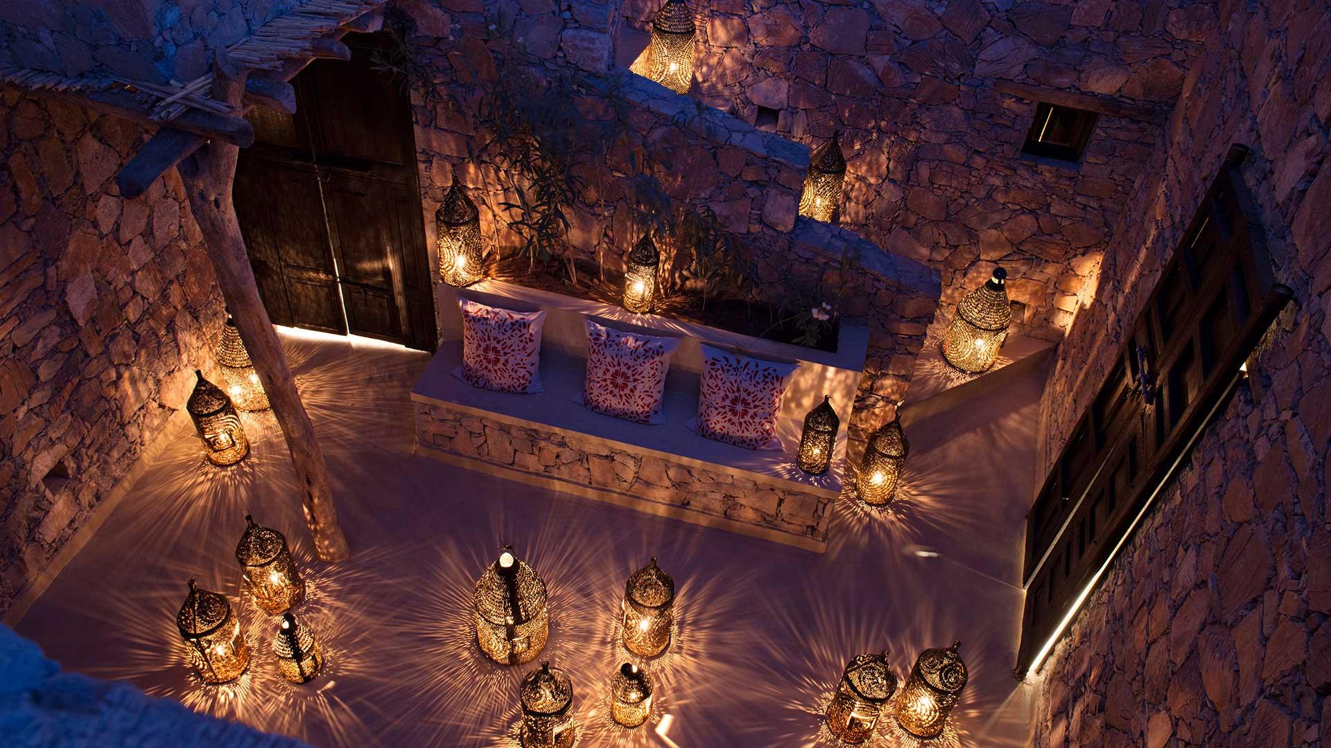 Riad La Maison Rouge lounge