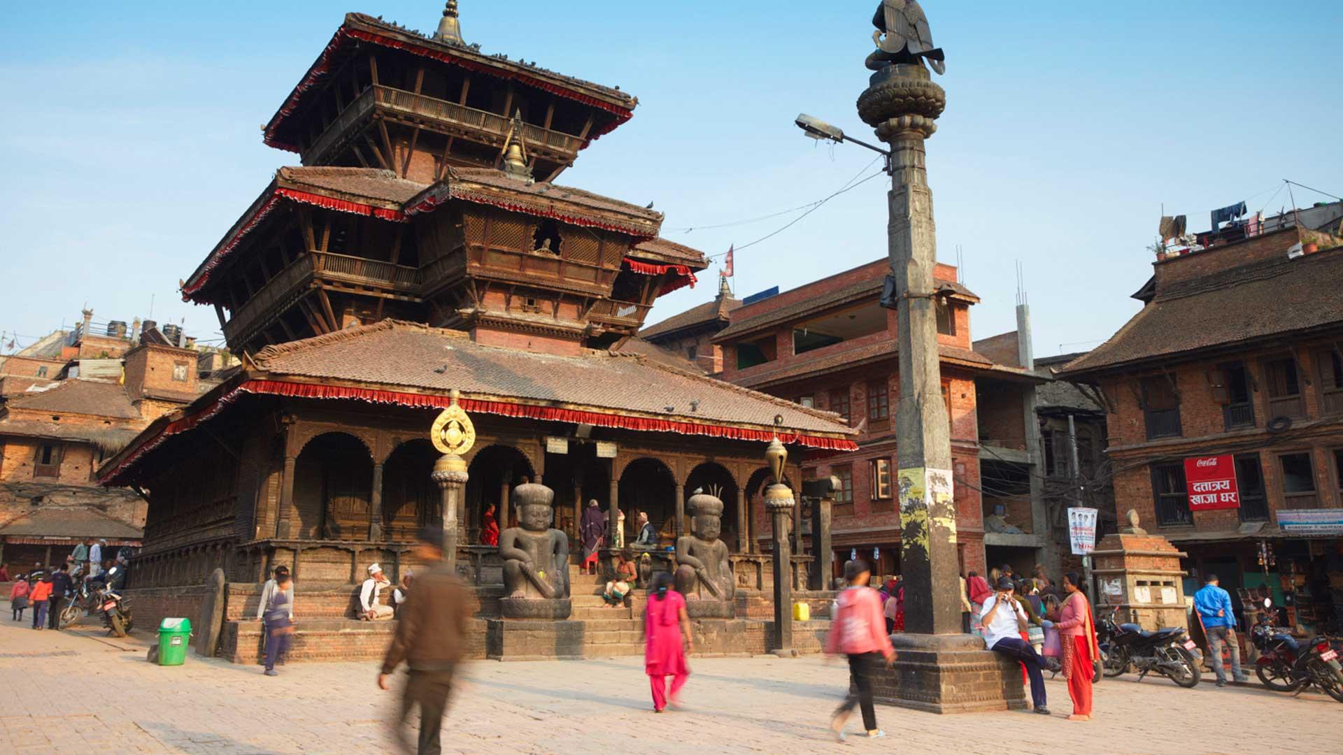 Dattatreya Temple, Tachupal Tole, Bhaktapur, a UNESCO World Heritage Site