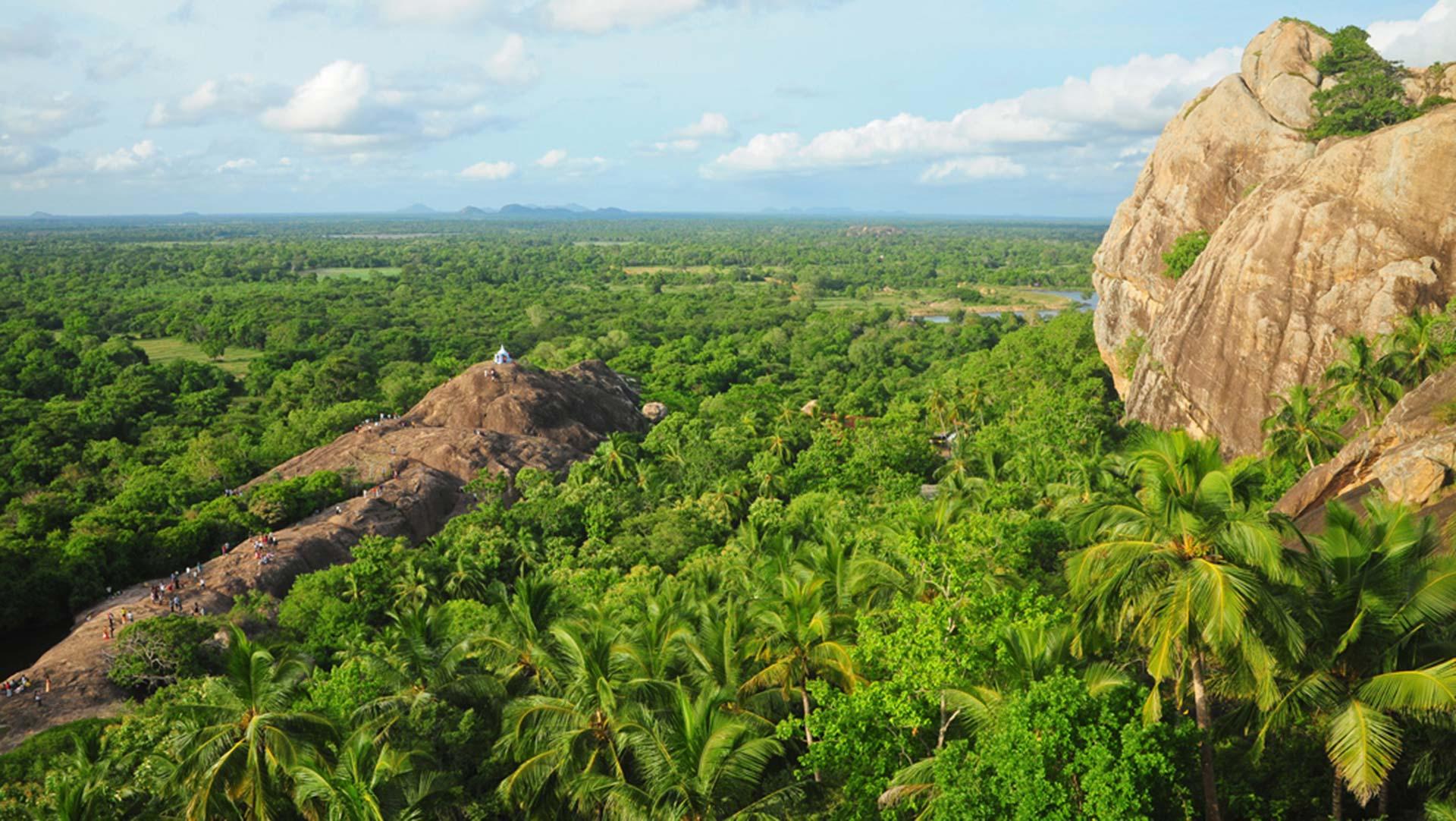 Landscape in northern Sri Lanka