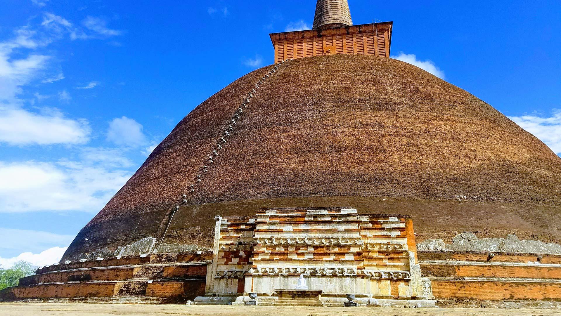 Jetavanaramaya stupa, Sri Lanka