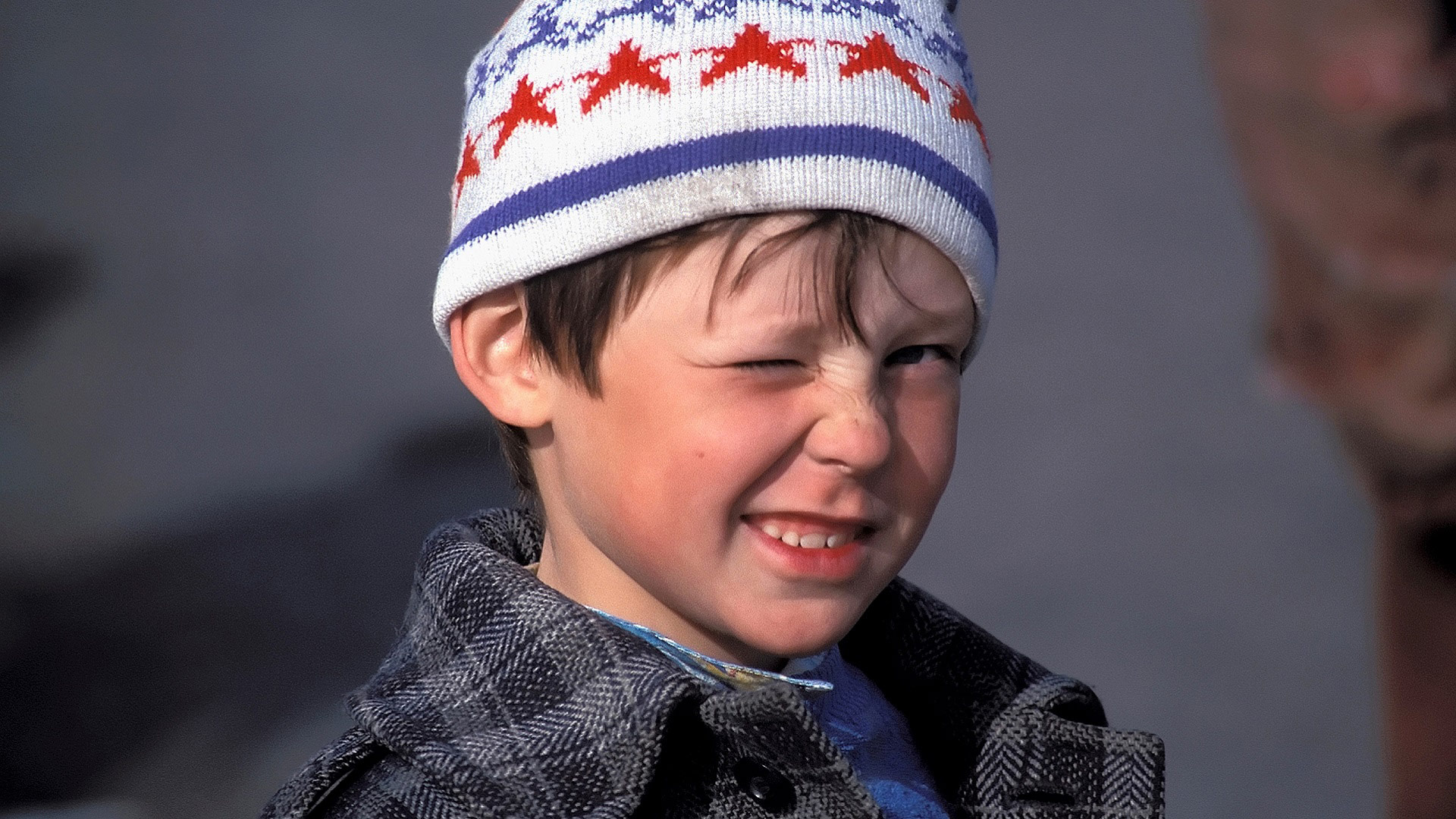 Young boy near Baikal, Irkutsk Oblast, Russia with GeoEx