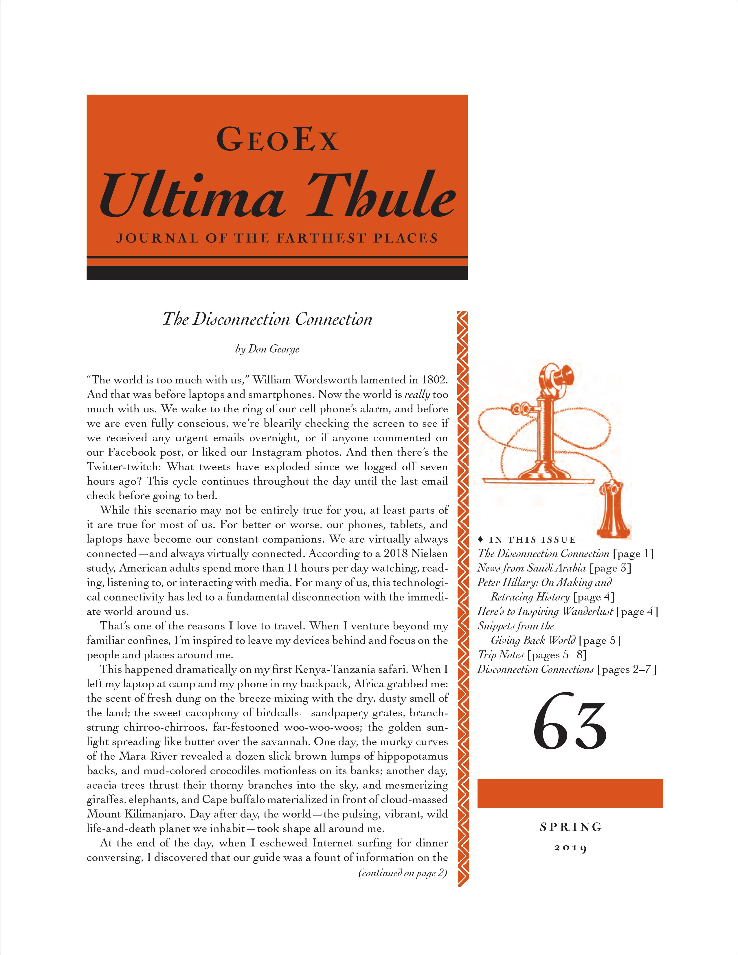 Ultima Thule Issue 63
