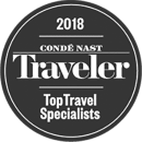 2018 Condé Nast Traveler Top Travel Specialists Award