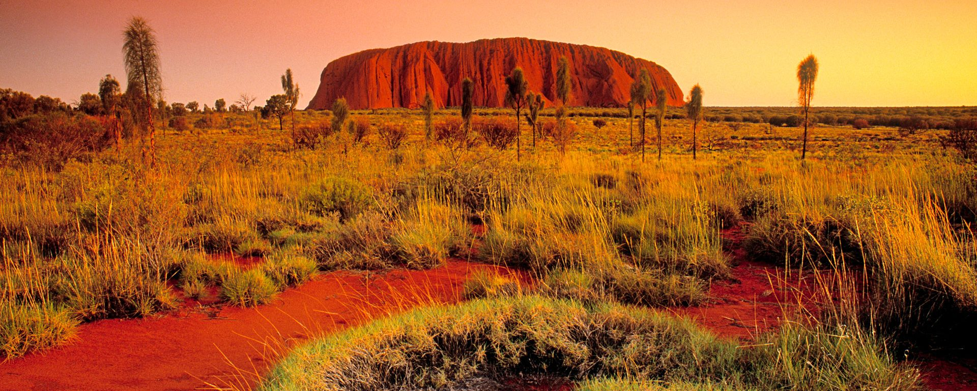 Ayers Rock in the Northern Territories, Australia