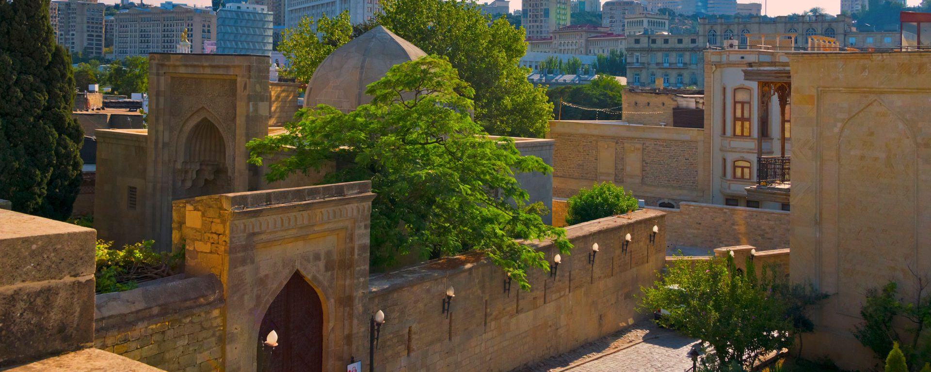 Shirvanshahs Palace Complex in the Inner City of Baku, Azerbaijan