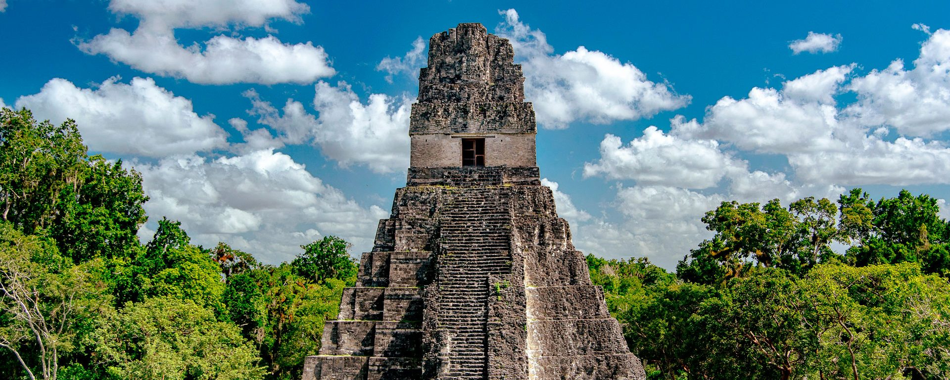 The Mayan ruins of Tikal, A UNESCO World Heritage Site, in El Petén, Guatemala