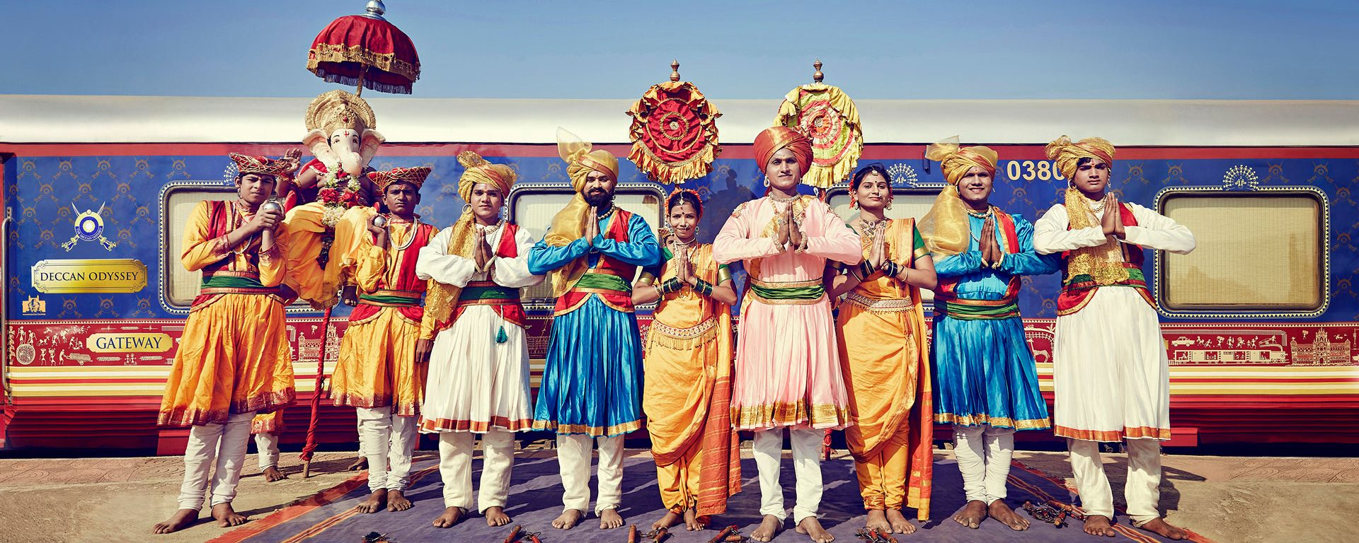 Southern India by luxury train on the Deccan Odyssey