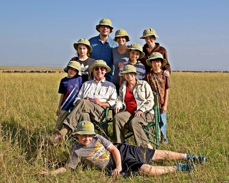Multigenerational family safari to Kenya with GeoEx.