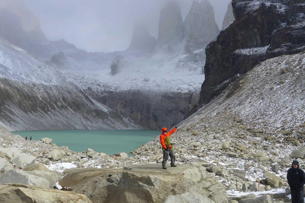 Trekker Peter Van Kuran in Patagonia with GeoEx.