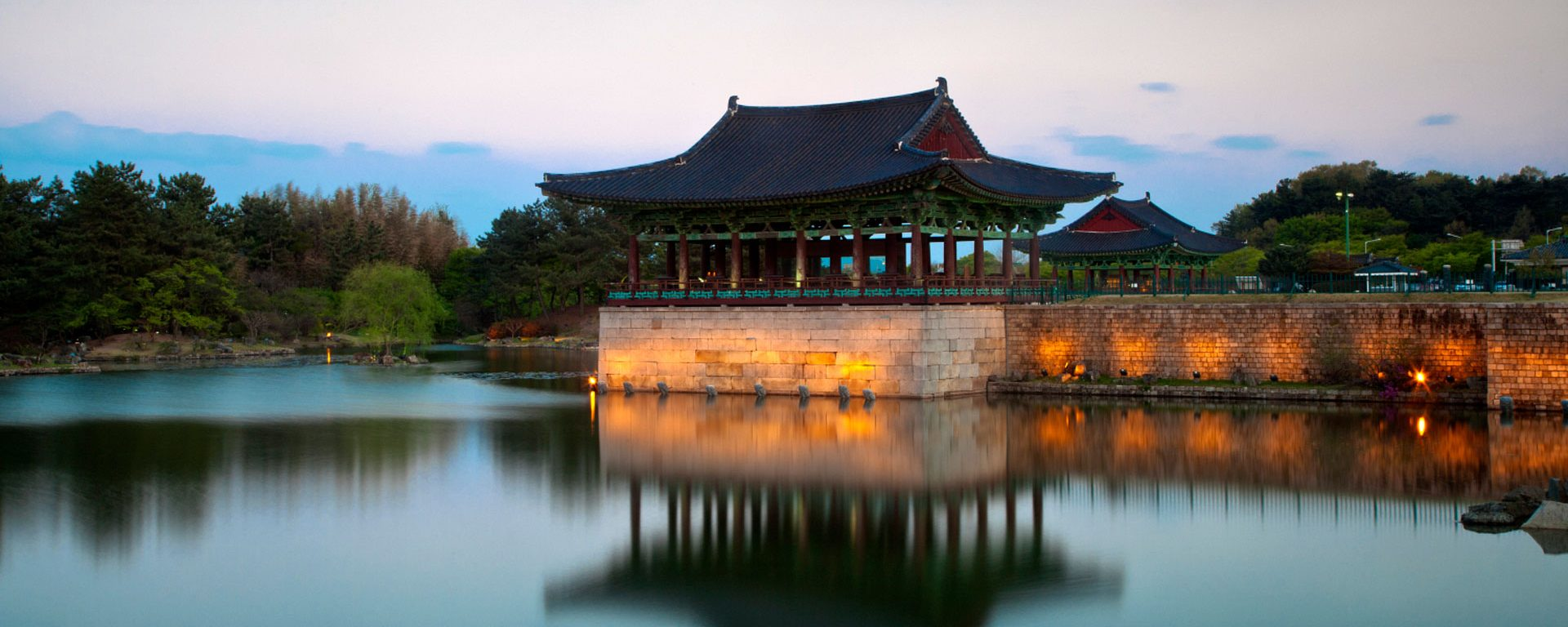 Donggung Palace and Anapji Pond in Gyeongju, South Korea