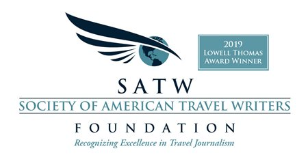 2019 Lowell Thomas Award Winner logo
