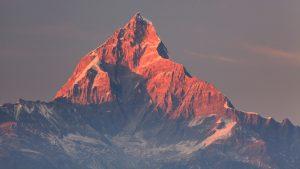 View of the Annapurna range from Pokhara, Himalaya treks with GeoEx