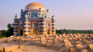 15th century Mausoleum of Bibi Jawindi, Pakistan
