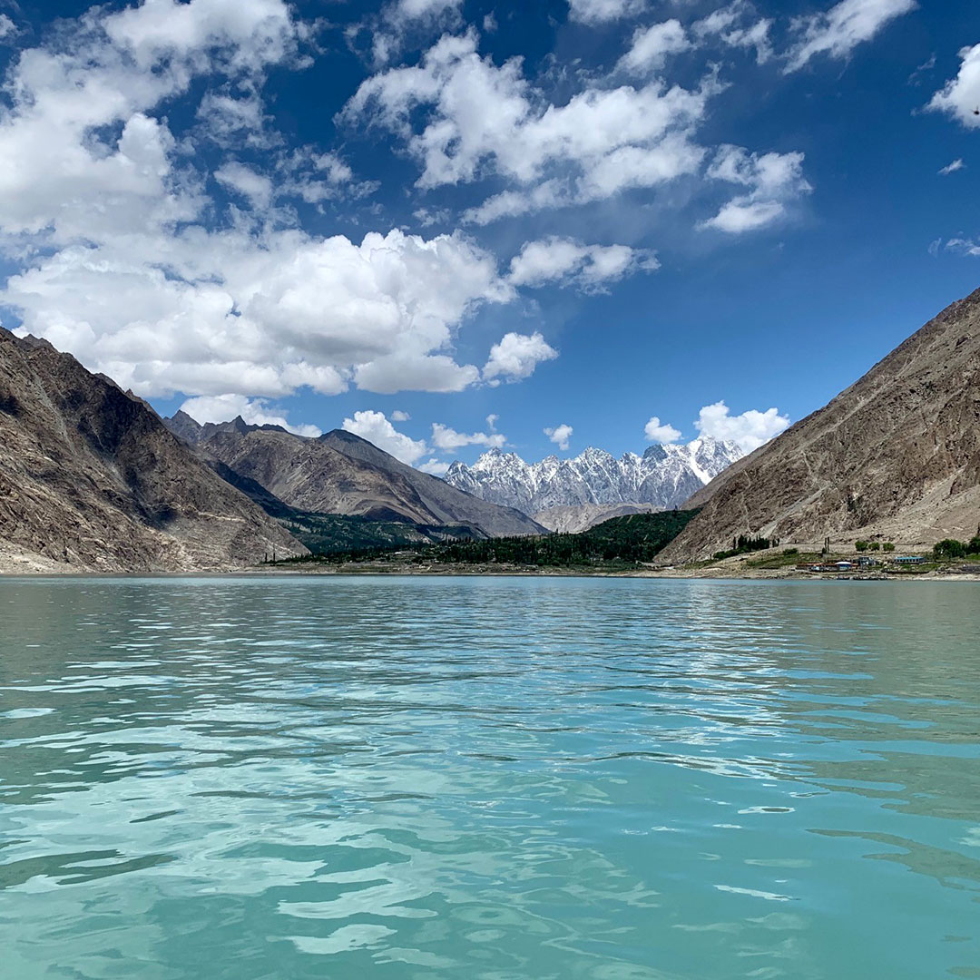 Pakistan Hunza Valley scenery