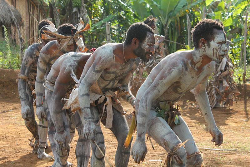 Асаро грязевые люди (Папуа-Новая Гвинея)