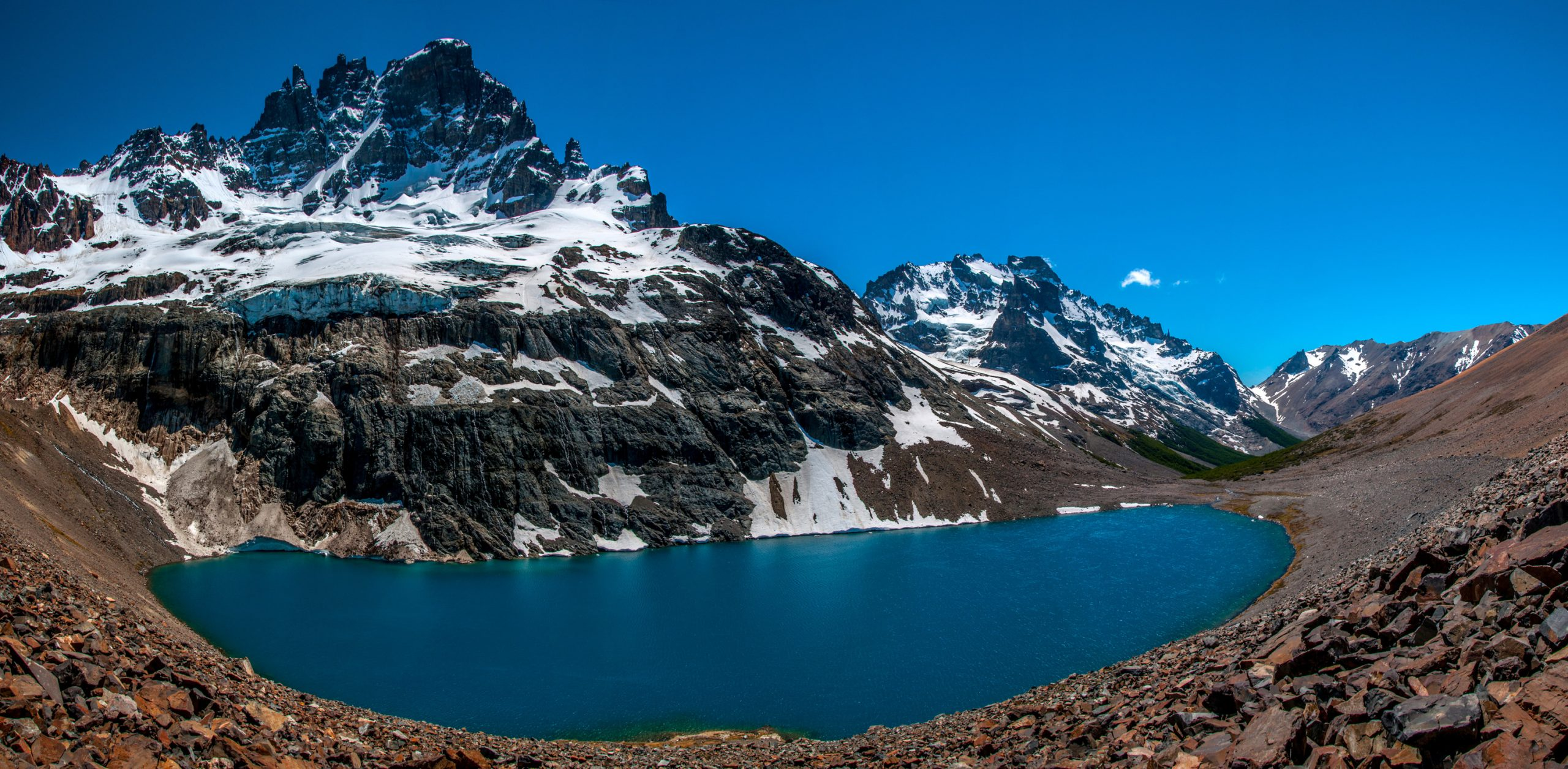 Laguna Verde hike in Cerro Castillo National Park, Chile