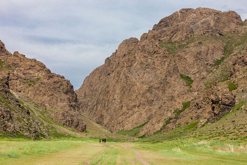 Yol valley National Park, Altai Mountains in Gobi Desert, Mongolia.