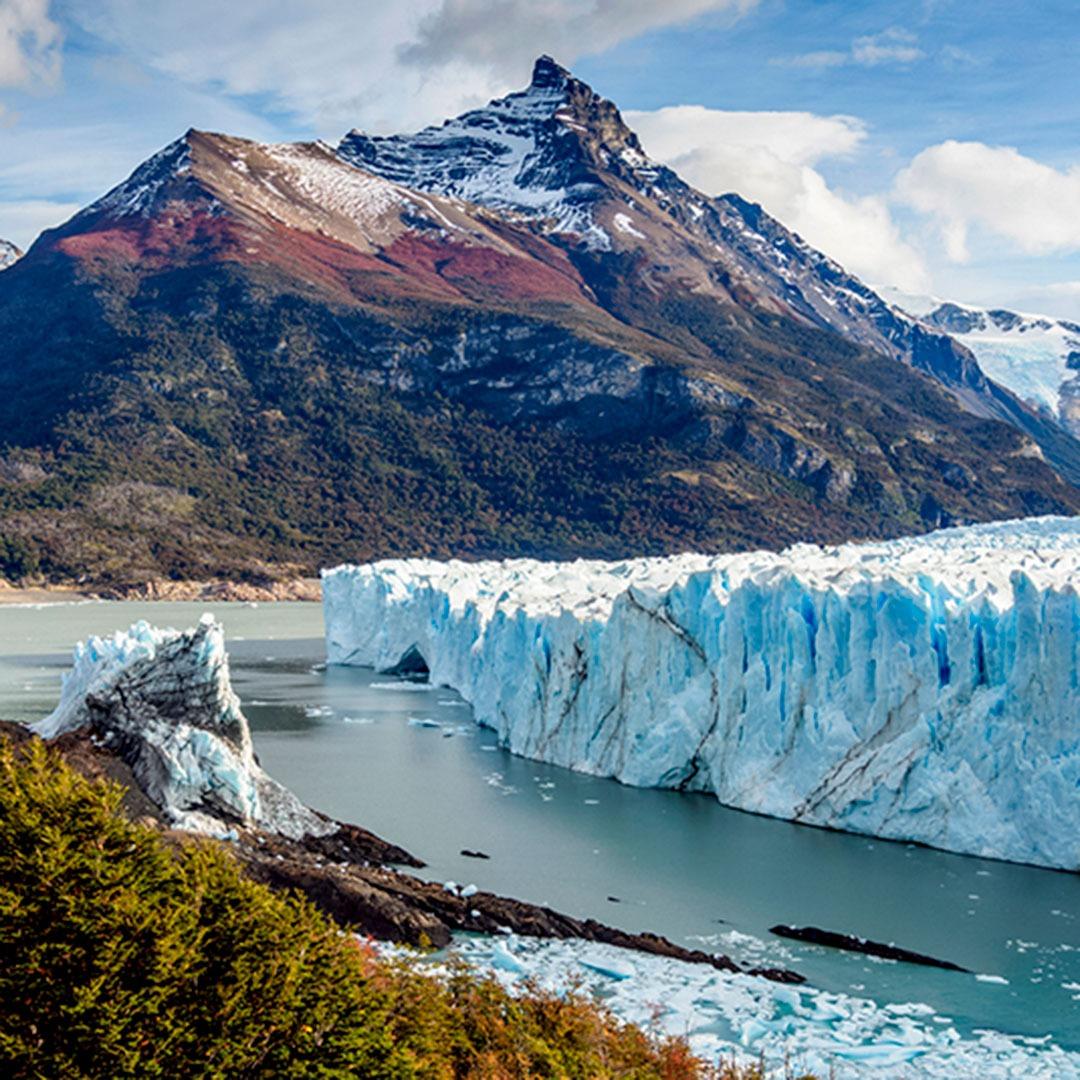 Perito Moreno Glacier, Los Glaciares National Park, Santa Cruz Province, Patagonia, Argentina.